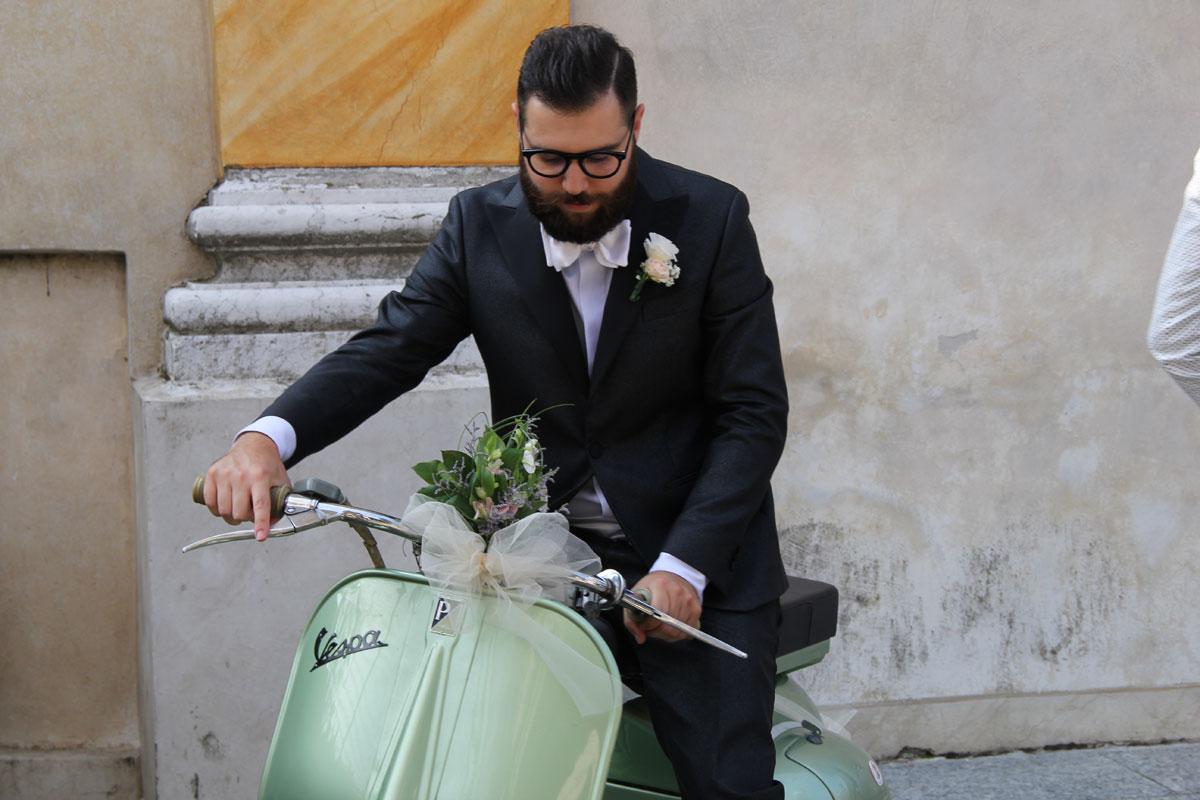 abito da sposo su misura